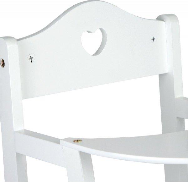 SMALL FOOT Krzesełko do Karmienia Lalki