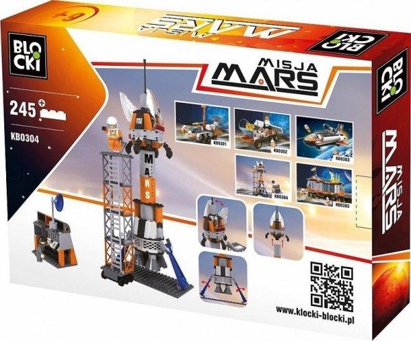 Klocki Blocki Misja Mars Kosmodrom 245 el.