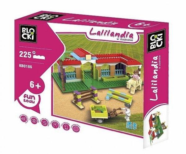 Klocki Blocki Lalilandia W Stadninie 225 el.