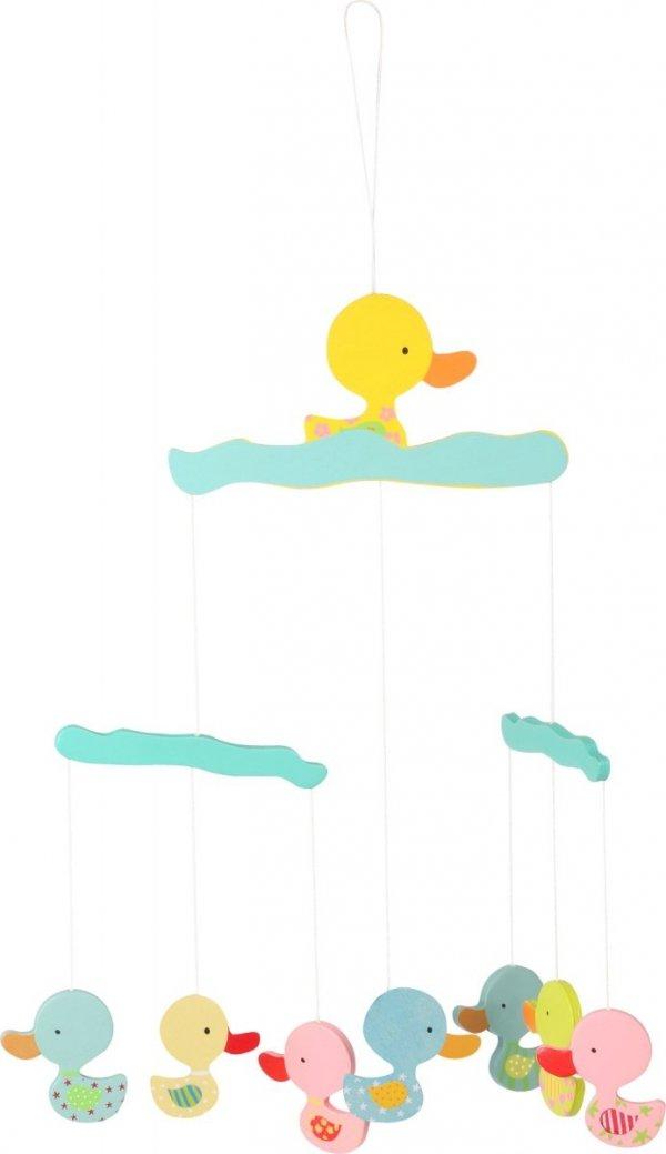 """SMALL FOOT Mobile """"Duck"""" - karuzela z kolorowymi kaczkami"""