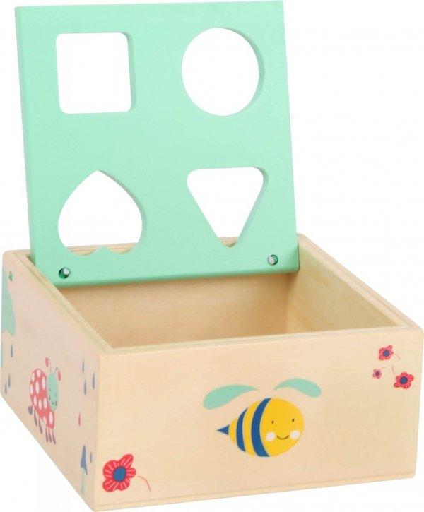 """SMALL FOOT Shape-Fitting Cube """"Move it!"""" - sorter kształtów (kostka)"""