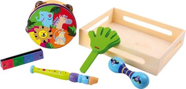 SMALL FOOT Zestaw Muzyczny Safari - instrumenty dla dziecka