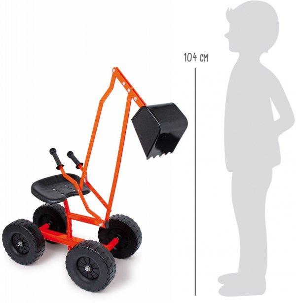SMALL FOOT Jeździk Koparka dla Dziecka