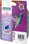 Wkład light magenta do Epson Stylus Photo R265/360/RX560/585/685; T0806