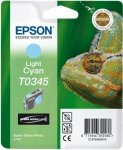 Atrament do Epson Stylus Photo 2100 - jasno błękitny T0345