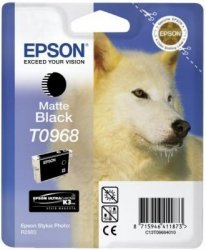 Tusz (Ink) T0968 matte black do Epson Stylus Photo R2880