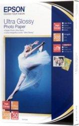 Papier Epson Ultra Glossy Photo Paper,10x15, 300g/m2, 50 kartek. S041943