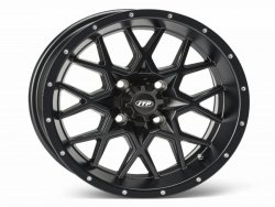 HURRICANE 15x7 4/156 4+3 1528644536B Matte Black