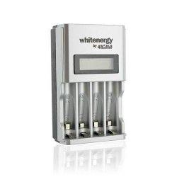 Whitenergy Ładowarka na 4xAA/4xAAA HighSpeed 1800mA z LCD 06455