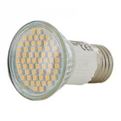 Whitenergy LED E27 60SMD 3528 3W ciepła biała
