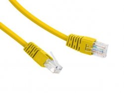Gembird Patch cord Kat.6 UTP 0.25m żółty