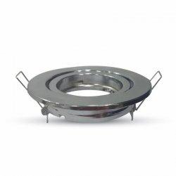 V-tac Oprawa LED VT-7227RD-SS GU10 aluminium, chrom, okrągła