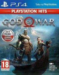Sony Gra PS4 God of War HITS