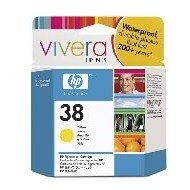 Wkład atramentowy HP No 38 yellow Vivera | 27ml | C9417A