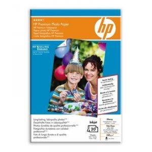Papier 10x15cm, 240g, 20ark. - HP Premium Photo Paper, błyszczący