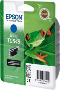 Tusz do Epson Stylus Photo R800/R1800 Blue Ink Cartridge 400 str. T0549
