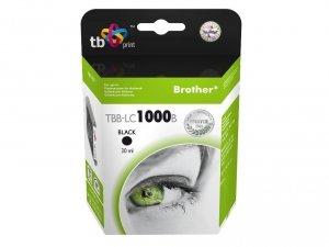 TB Print Tusz do Brother LC1000BK TBB-LC1000B BK 100% nowy