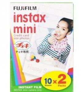 Fujifilm ColorFilm Instax Mini Glossy(10/2) wkład (2pak)
