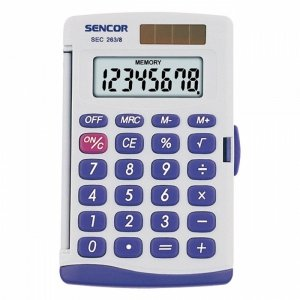 Sencor Kalkulator kieszonkowy SEC 263/8