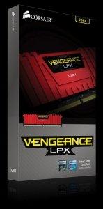 Corsair DDR4 Vengeance LPX 8GB/2400 RED CL14-16-16-31 1.20V XMP2.0