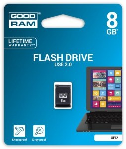 GOODRAM PICCOLO 8GB USB 2.0 Czarny