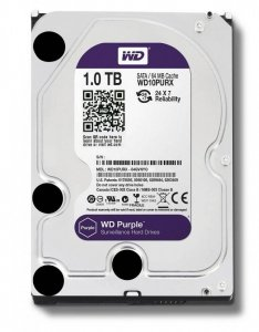 Western Digital HDD Purple 1TB 3,5'' 64MB SATAIII/5400rpm