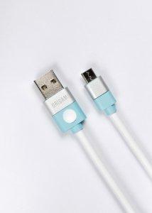 Lark Kabel USB do Micro USB Origami 1m biały