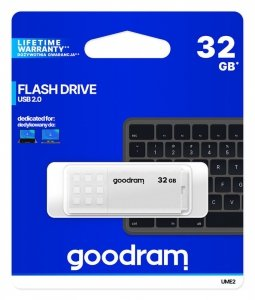 GOODRAM Pendrive UME2 32GB USB 2.0 Biały