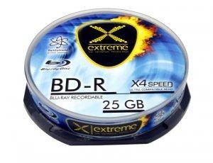 Extreme Płyty BD-R 25GB x4 - Cake Box 10
