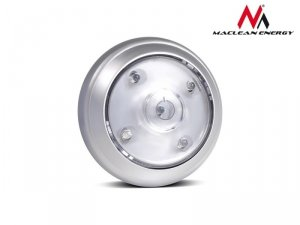 Maclean Lampa samoprzylepna 5xLED superjasne na baterie 3xAAA ruchoma głowica Energy MCE28
