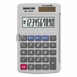 Sencor Kalkulator kieszonkowy SEC 229/10