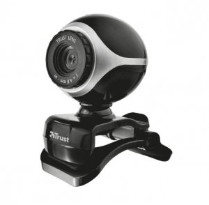 Trust Kamera internetowa Exis - czarny/srebrny