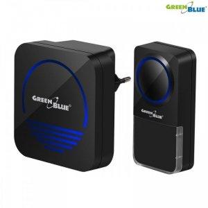 CEE Dzwonek bezprzewodowy 52 melodie GB120B czarny