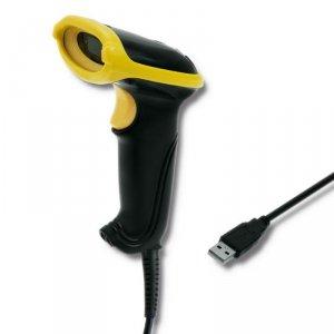 Qoltec Czytnik kodów kreskowych 1D | USB
