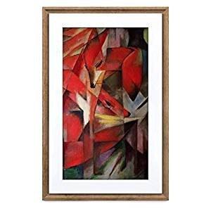 Netgear Ramka cyfrowa Meural MC321HW Smart Digital Art Frame 21.5cala (16x24) ciemne drewno
