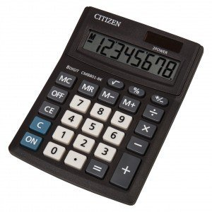 Citizen Kalkulator biurowy serii Business Line CMB801-BK