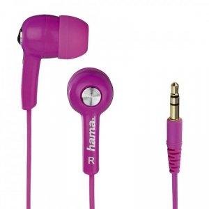 Hama Słuchawki douszne HK2103 Różowe