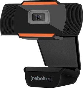 Rebeltec Kamera Internetowa Live HD, typ sensora CMOS 1/4 Rozdzielczość 1280x720, focus: od 3cm do nieskończonoci, 30 klat