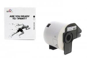 TB Print Etykiety TBEB-DK11202 Brother Czarny na Białym 62x100mm 300szt