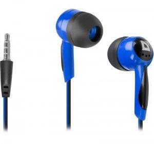 Defender Słuchawki przewodowe, nauszne BASIC 604 Czarno-niebieskie