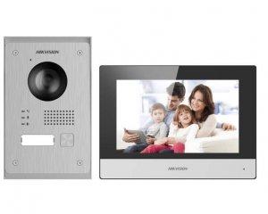 Hikvision Zestaw wideodomofonu IP KIS-703P/Europe