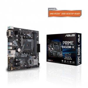Asus Płyta główna PRIME B450M-K II AM4 2D DR4 DVI/DSUB/USB3.1/M.2