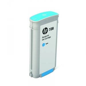Tusz HP 728 40ml Cyan do DJ T730/T830 F9J63A