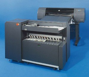 Wielkoformatowa składarka dokumentów on-line ES-TE ESTEFOLD 4211-HP 930mm A0 z cross dla HP 4000/4500