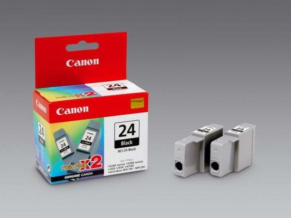 Tusz Canon czarny BCI-24BK (2-pack)