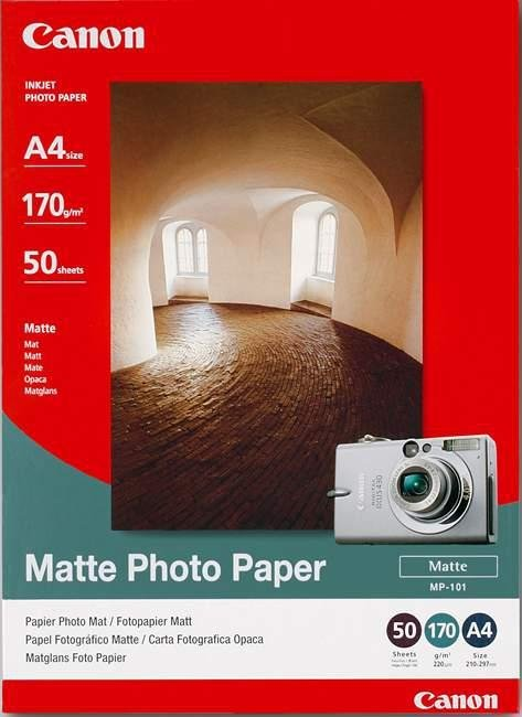 Papier MATTE PHOTO PAPER MP-101 (A4, 50 ark, 170g/m2 )