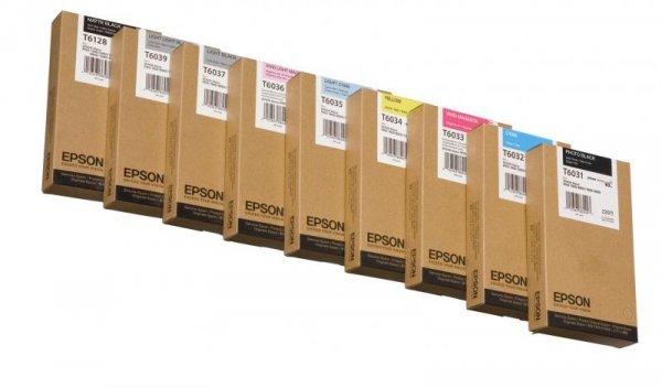 Atrament Light Black 220 ml do Epson Stylus Pro 7800/7880/9800/9880 C13T603700