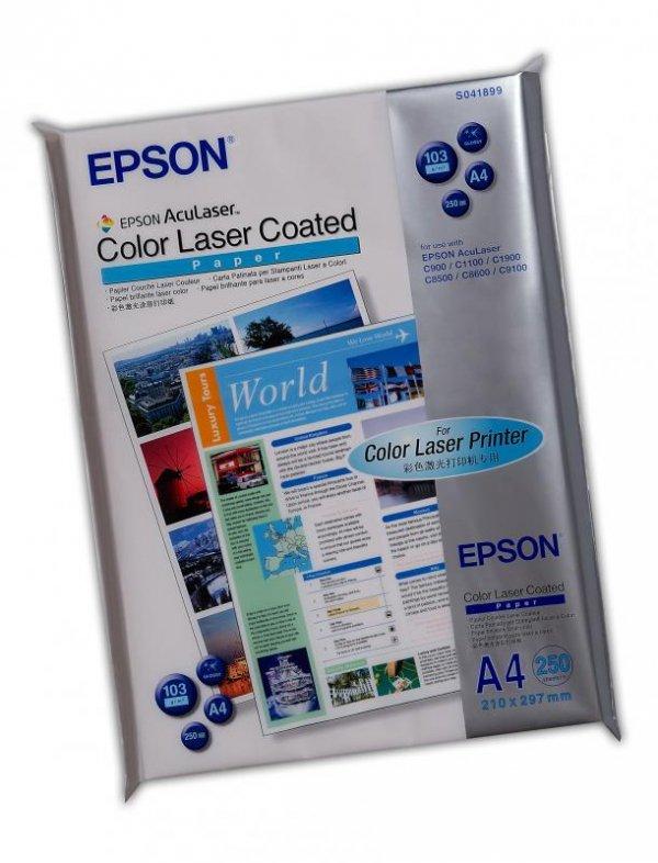 Papier Epson Color Laser Paper coated, A4, 103g/m2, 250 kartek