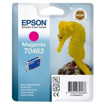 Wkład magenta do Epson Stylus Photo R300/R340/RX500/RX640/R220 T0483
