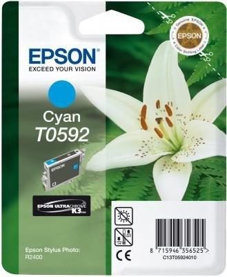 Wkład cyan do Epson Stylus Photo R2400 T0592